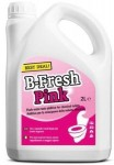 PŁYN DO TOALET B-FRESH PINK  DO SPŁUKIWANIA 2L