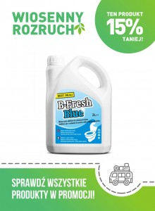 PŁYN DO TOALET B-FRESH BLUE 2 L